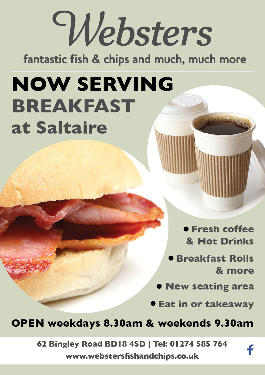 Websters Saltaire Breakfast